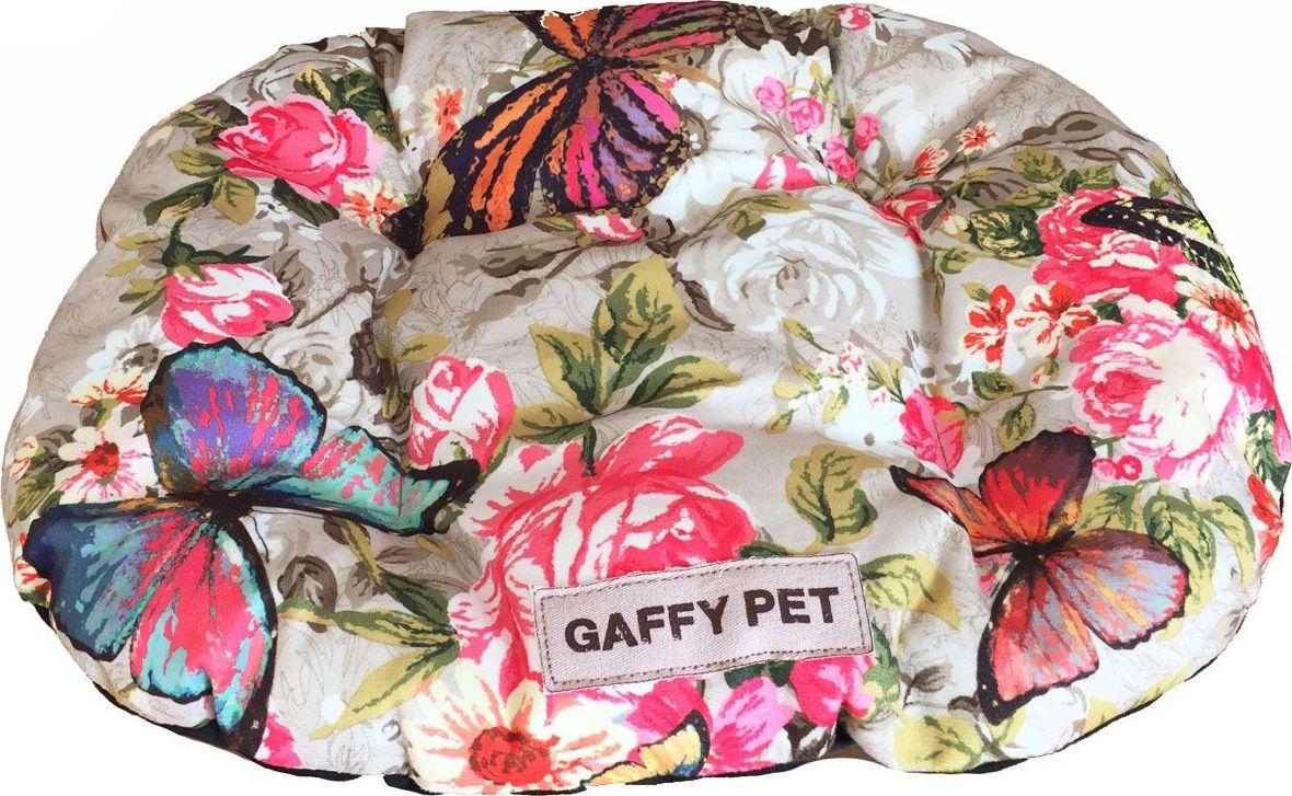 Подушка для животных Gaffy Pet Butterfly, цвет: зеленый, 55 х 35 см11235 SПодушка для животных Gaffy Pet обязательно понравится вашему питомцу. Верх подушки выполнен из плотного текстиля. В качестве наполнителя используется мягкий холлофайбер. Изделие имеет бортики, высота которых варьируется. Очаровательная расцветка, подойдет как кошкам, так и собакам. Можно стирать на ручном режиме в стиральной машине и чистить щеткой.