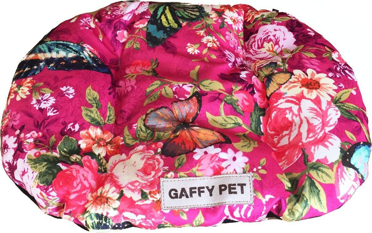Подушка для животных Gaffy Pet Butterfly, цвет: розовый, 75 х 55 см11237 MНовая коллекция из серии PETS из прочных профессиональных тканей. АНТИКОГОТЬ. Высота борта впереди варьируется. Очаровательная расцветка, подойдет как кошкам, так и собакам. Можно стирать на ручном режиме в стиральной машине и чистить щеткой.