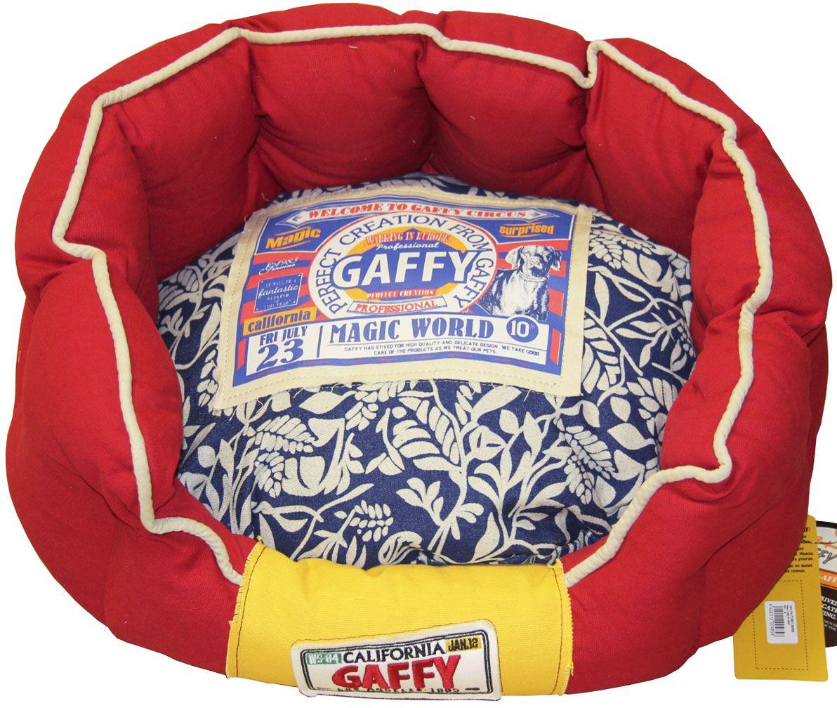 Лежак для животных Gaffy Pet Leaf, 65 х 40 х 26 см11068MСтильная и практичная лежанка для собак. Синяя подушка, красные борта. Приятные на ощупь материалы, легко моются. Подушка двусторонняя, ее можно использовать отдельно.