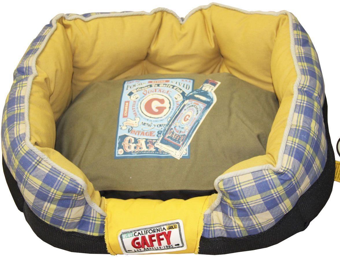 Лежак для животных Gaffy Pet Plaid, 65 х 40 х 26,1 см лежак дарэлл хантер лось 3 с подушкой 65 48 18см