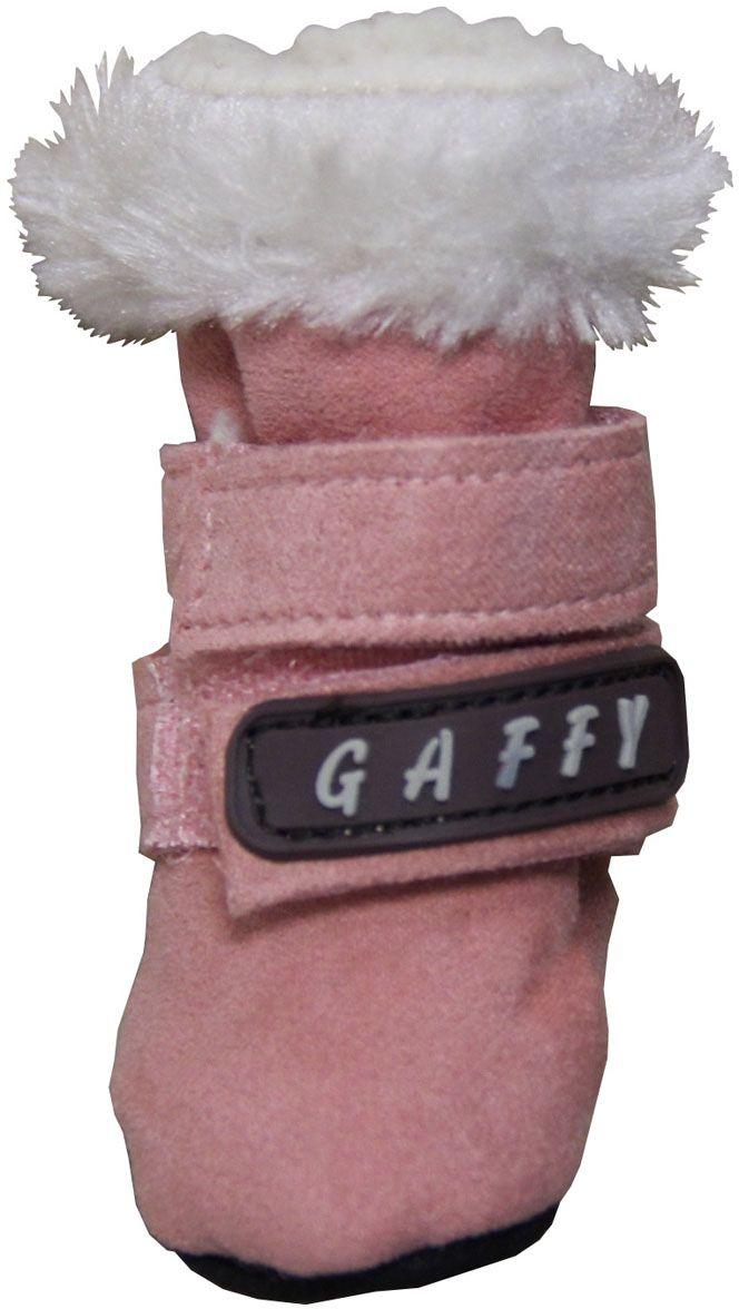 Ботинки для собак  Gaffy Pet , цвет: розовый. Размер M - Одежда, обувь, украшения