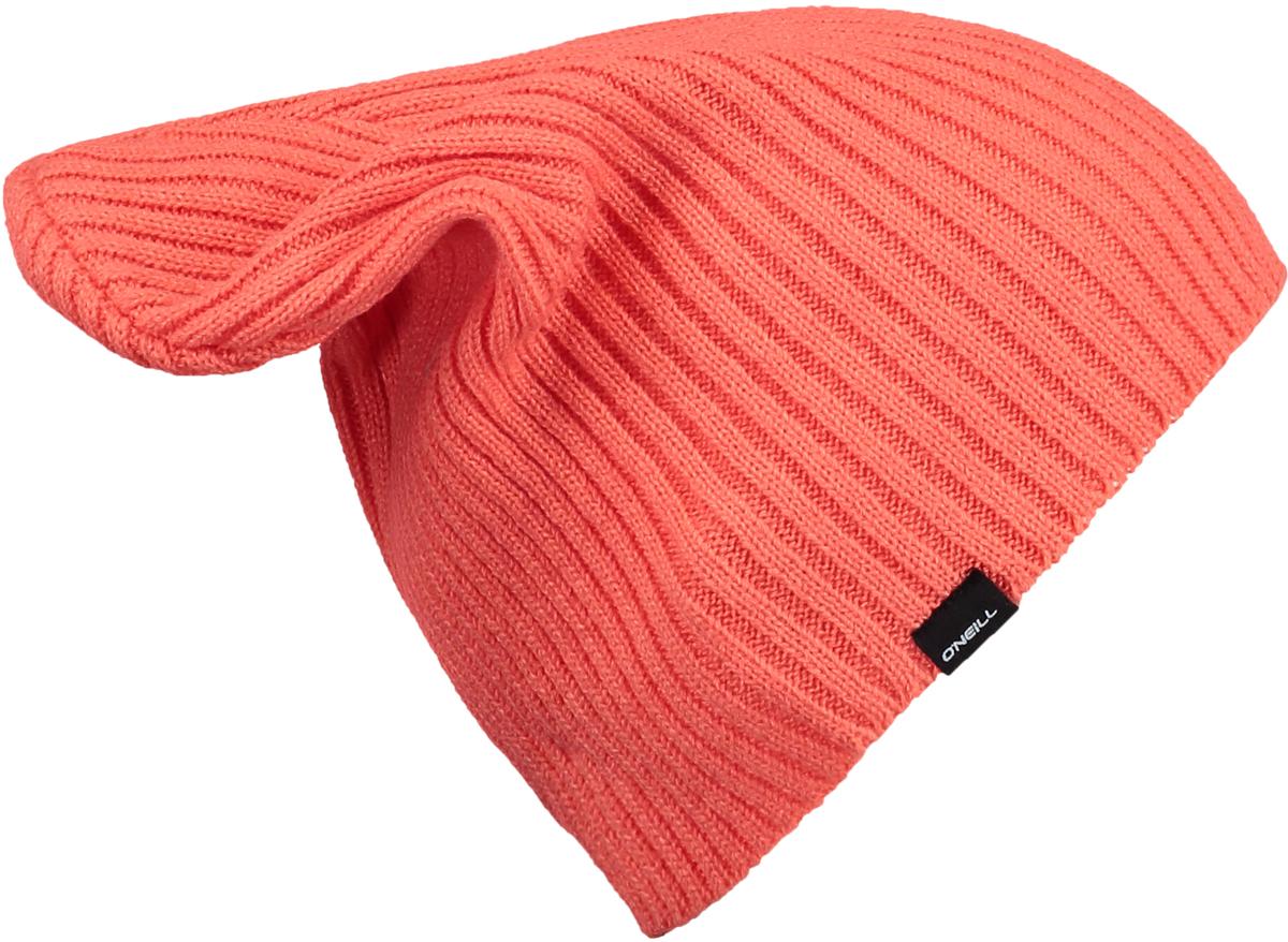 Шапка женская ONeill Bw Chamonix Beanie, цвет: коралловый. 7P9124-3065. Размер универсальный7P9124-3065Женская шапка от ONeill выполнена из акриловой пряжи. Такая стильная шапка подойдет на каждый день и согреет в холодную погоду.