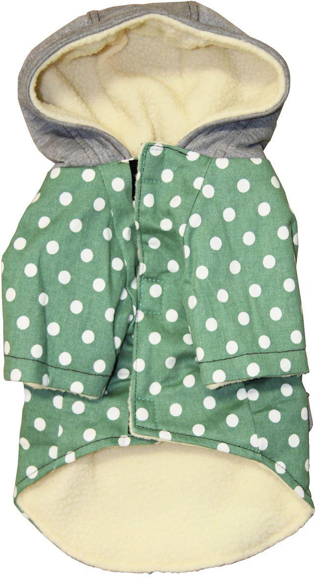 Пальто для собак Gaffy Pet  Cute Dots . Размер M - Одежда, обувь, украшения