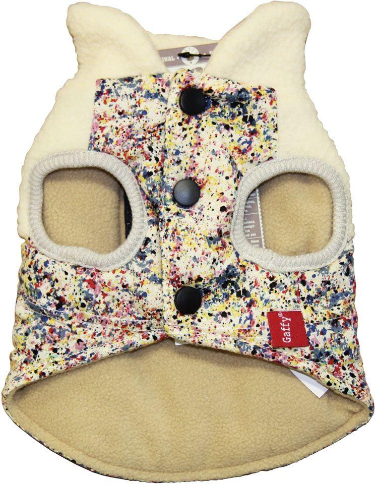 Куртка для собак Gaffy Pet Khaki Print. Размер S11014 SКомфортная курточка с необычным принтом под Хаки.Подойдет всем собакам. Можно сочетать с рубашками и майками. Утеплен флисом изнутри, а также имеет флисовый воротник.Тщательно продуманный дизайн. Фиксируется на животе кнопками. Материал кнопок: металл.Идеально сочетается с джинсовой рубашкой Rock. Но и с другими моделями прекрасно комбинируется.Обхват шеи, см: 21.Обхват груди, см: 40.Длина спины, см: 26.
