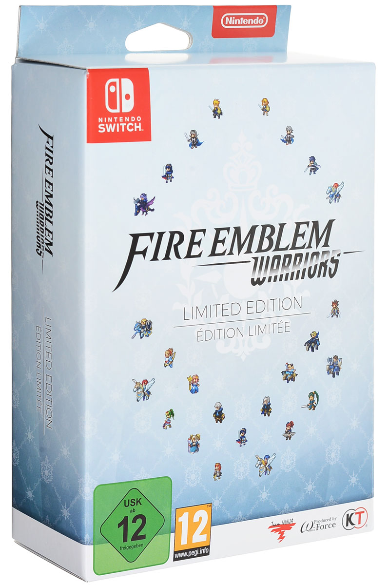 Fire Emblem Warriors. Ограниченное издание (Nintendo Switch) видеоигра для nintendo switch hyrule warriors definitive edition