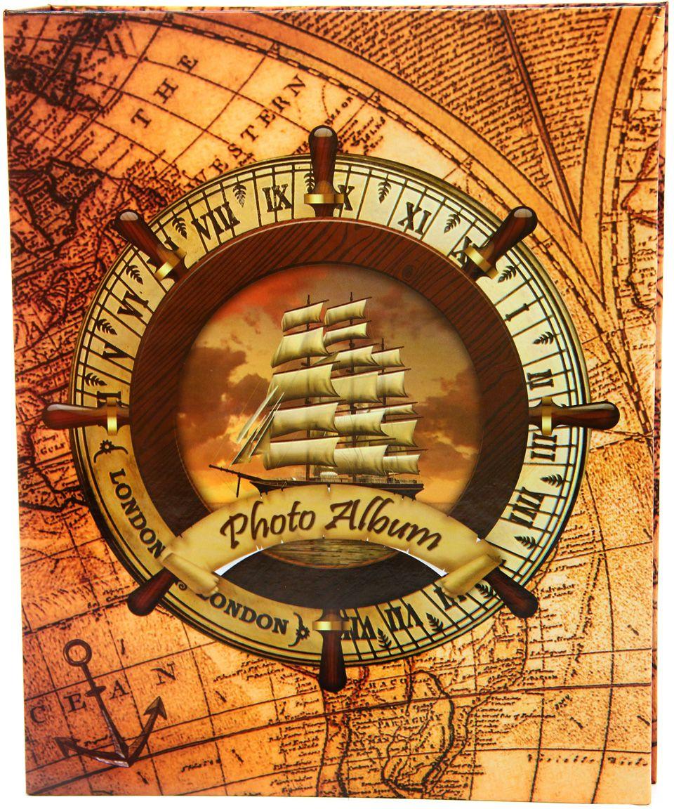 Фотоальбом Pioneer Rose Wind. Корабль, цвет: коричневый, 200 фото, 10 х 15 см фотоальбом platinum классика 240 фотографий 10 x 15 см