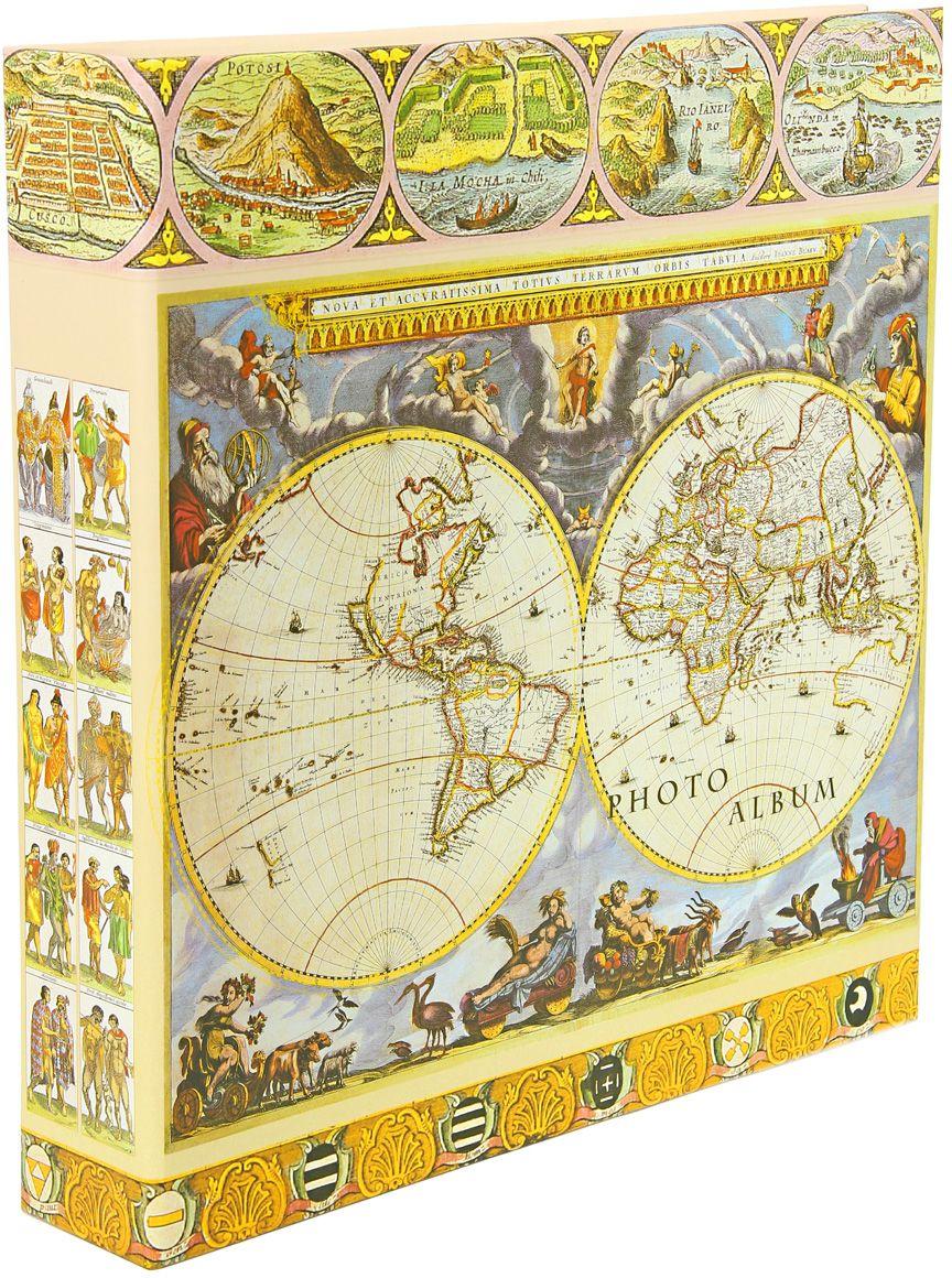Фотоальбом Pioneer Antique Map. Полушария, цвет: белый, голубой, желтый, 10 х 15 смPlatinum JW2-020 АРКОЛА-КОРИЧНЕВЫЙ 10x15Материалы, использованные в изготовлении альбома Pioneer Antique Map. Полушария, обеспечивают высокое качество хранения ваших фотографий, поэтому фотографии не желтеют со временем. Обложка альбома выполнена из ламинированного картона. Страницы выполнены из пластика. На странице фотоальбома размещаются 5 фотографий: 3 горизонтально и 2 вертикально. Альбом содержит 100 страниц.Вмещает 500 фотографий. Крепление фото: кармашки. Максимальный размер фото: 10 х 15 см. Переплет: на кольцах. Размер альбома: 33 х 34,5 см.