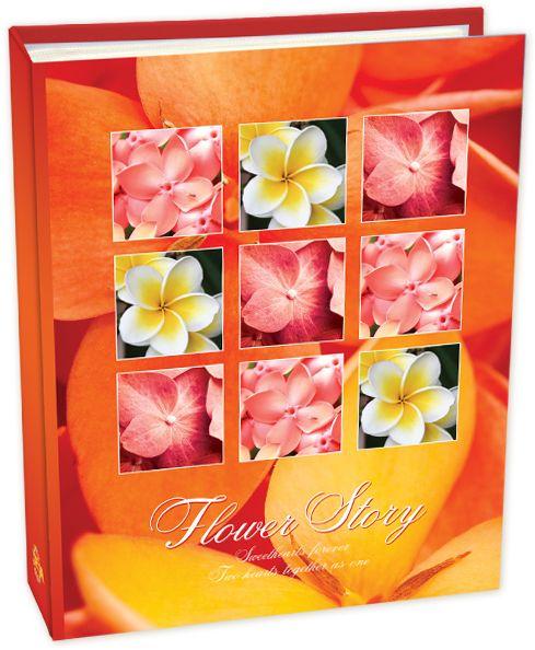 Фотоальбом Pioneer Flower Story, цвет: оранжевый, 10 х 15 см campus pioneer 200 xl