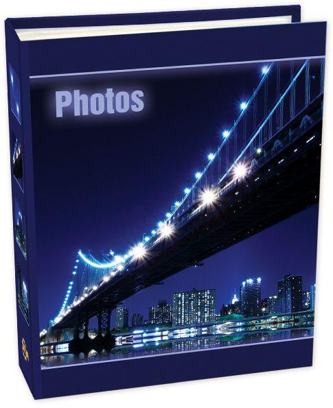 Фотоальбом Pioneer Bridges, цвет: фиолетовый, 200 фото, 10 х 15 см фотоальбом 200 фото 10 15см big dog™ bwc bouquet