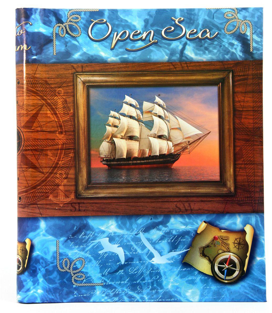 Фотоальбом Pioneer Open Sea, цвет: коричневый, голубой, 20 магнитных листов, 23 х 28 см46397 AP302328SAМатериалы, использованные в изготовлении альбома Pioneer Open Sea, обеспечивают высокое качество хранения ваших фотографий, поэтому фотографии не желтеют со временем. Обложка выполнена из ламинированного картона. Альбом содержит 20 магнитных листов. Тип переплета: спираль.