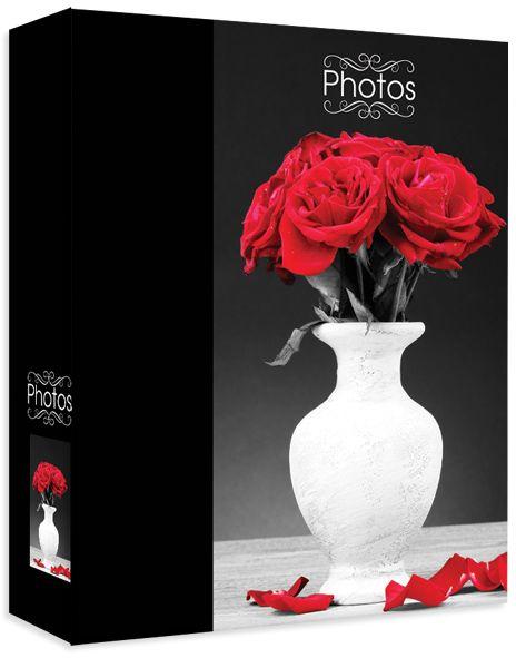 Фотоальбом Pioneer Bwc Bouquet, цвет: черный, красный, 10 х 15 см фотоальбом 200 фото 10 15см big dog™ bwc bouquet