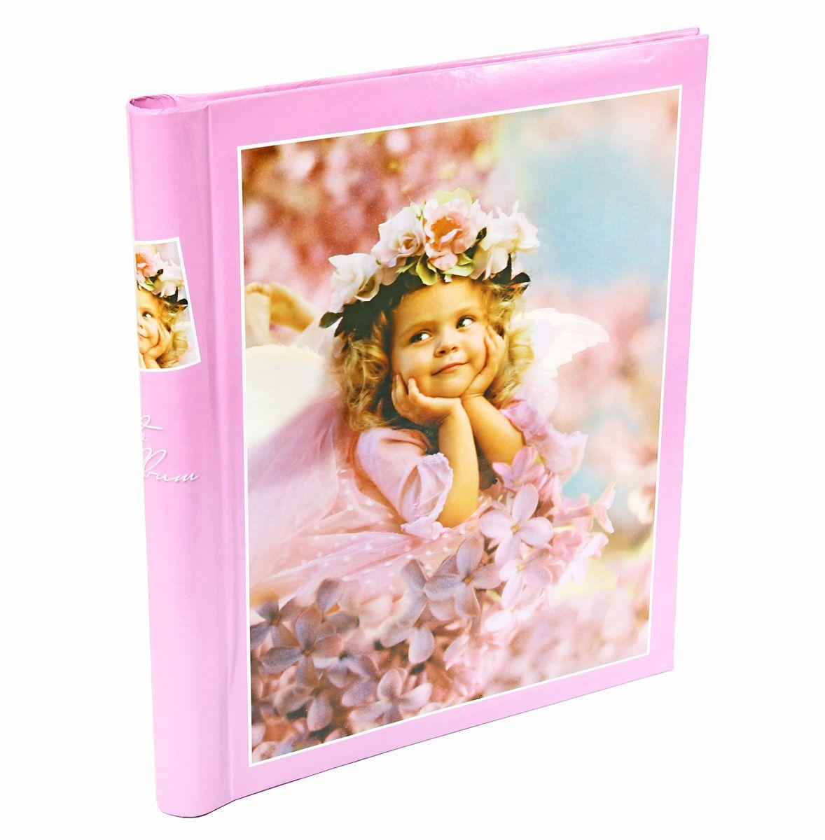 """Фото Фотоальбом Pioneer """"Elf Wonderland"""", цвет: розовый, 10 магнитных листов, 23 х 28 см"""