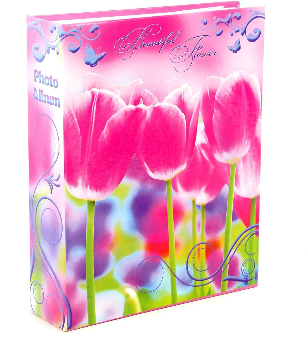 Фотоальбом Pioneer Beautiful Flower2, цвет: розовый, 200 фото, 10 х 15 см46207 LM-4R200Тип обложки: ламинированный картон. Тип листов: бумажные. Тип переплета: книжный. Кол-во фотографий: 200. Материалы, использованные в изготовлении альбома, обеспечивают высокое качество хранения Ваших фотографий, поэтому фотографии не желтеют со временем.