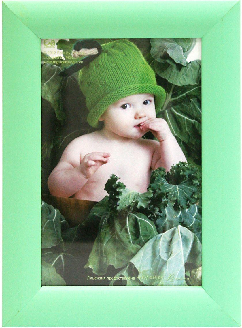 Фоторамка Pioneer Eva Freya, цвет: зеленый, 10 х 15 см50563/20038зеленРамка для фото формата 10х15 см. Материал: дерево. Материалы, использованные в изготовлении рамок, обеспечивают высокое качество хранения Ваших фотографий, поэтому фотографии не желтеют со временем