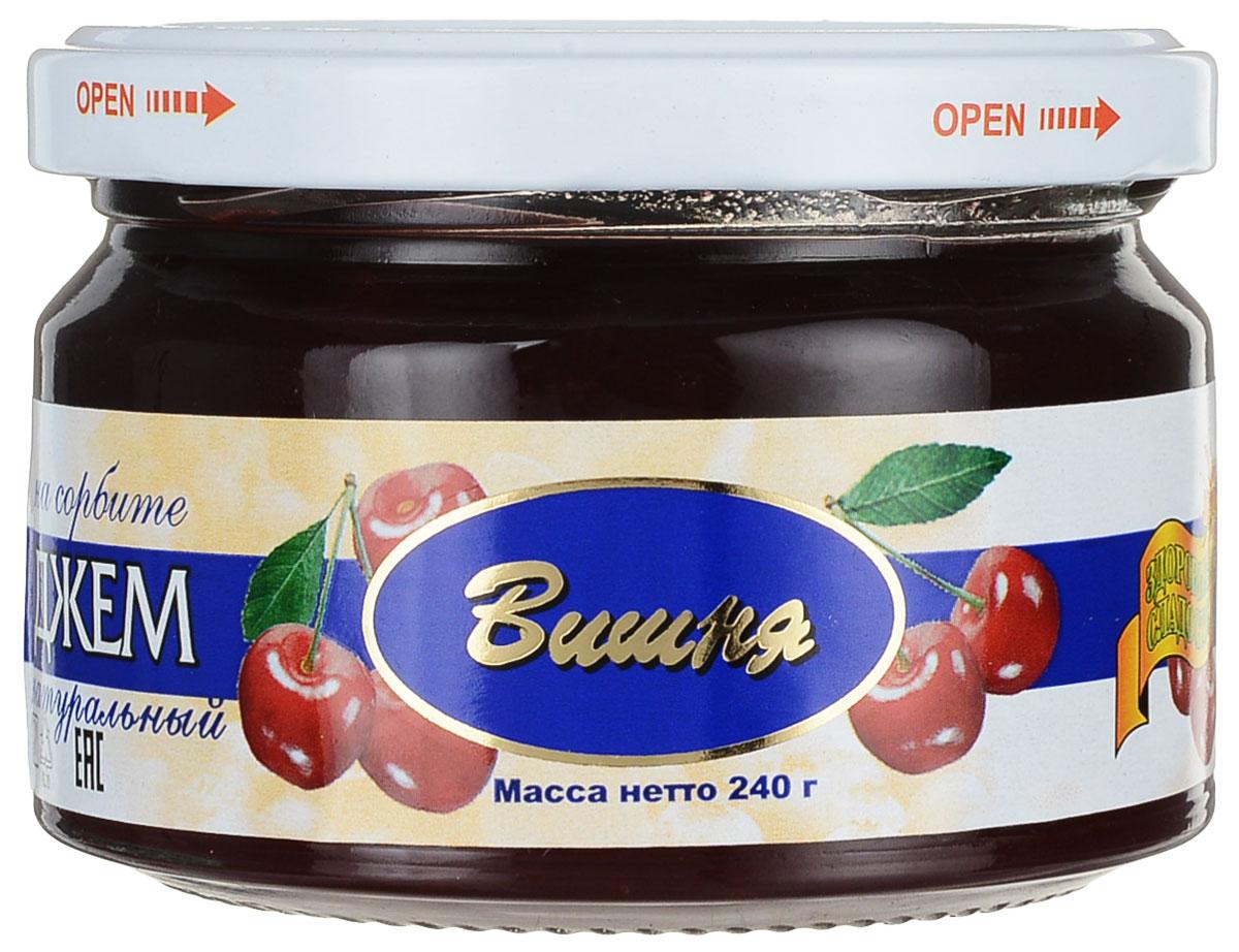 Здоровые сладости Петродиет джем вишневый на сорбите, 240 г3493Джем из вишни укрепляет иммунитет, обладает способностьюстимулировать обменные процессы и понижаетриск развития онкологических заболеваний. Рекомендуемая суточная норма потребления фруктозы для людей, больных сахарным диабетом, не более 0,75 г на 1 кг массы человека.