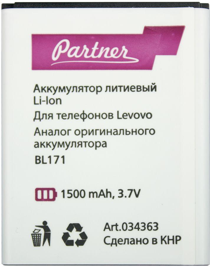 Partner аккумулятор для Lenovo A319 (1500 мАч)ПР034363Смартфон работает только на зарядке? Ограничиваете использование гаджета, ведь серфить мобильный интернет, слушать музыку и звонить удается не более пары часов, затем уровень заряда тает прямо на глазах? Установите новый аккумулятор Partner и верните устройству прежнее время автономной работы.Аналоговая батарея Partner имеет встроенный защитный контроллер, соответствует форм-фактору оригинала, не подвержена эффекту памяти и обладает маленьким саморазрядом (3% в год).