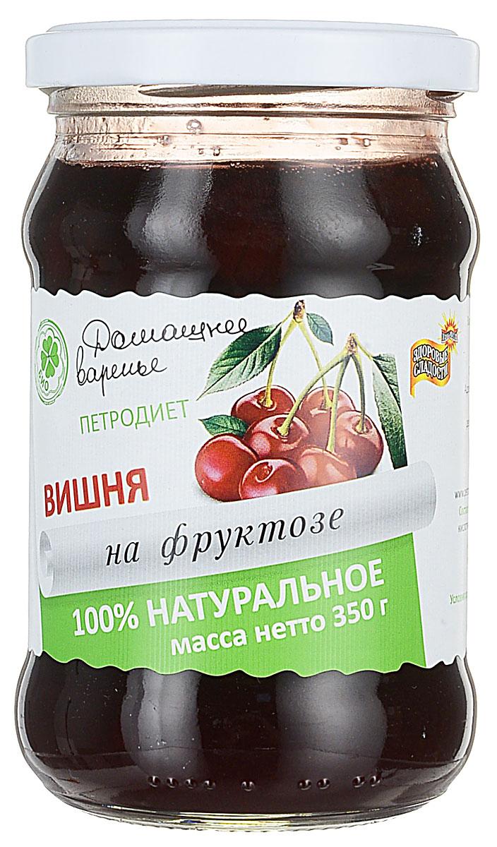 Здоровые сладости Петродиет варенье домашнее вишневое на фруктозе, 350 г lacywear gk 2 sfl