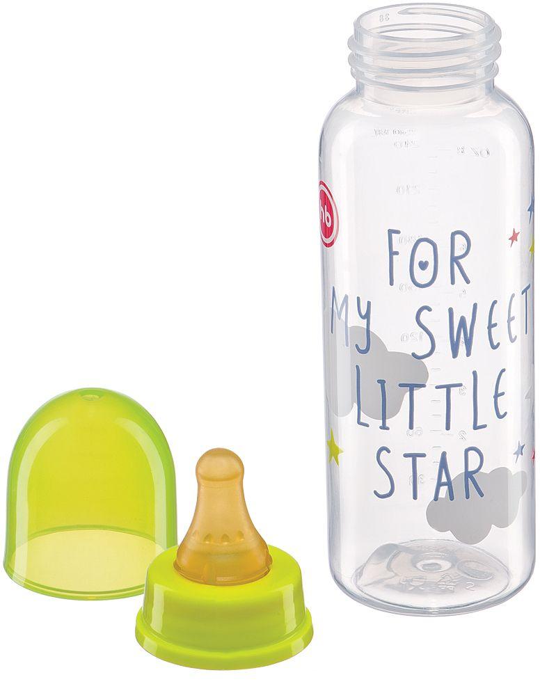 Happy Baby Бутылочка с латексной соской от 0 месяцев 250 мл