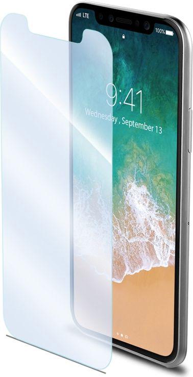 Celly Easy Glass защитное стекло для Apple iPhone X, ClearEASY900Закалённое стекло Celly Easy Glass - это ультражесткое закаленное стекло, предназначенное для защиты Apple iPhone X. Качество и твердость (9Н) гарантируют наилучшую защиту от потертостей и царапин при толщине всего 0.3 мм. Прозрачность позволяет сохранить высокое разрешение экрана. Абсолютно не влияет на чувствительность сенсора.