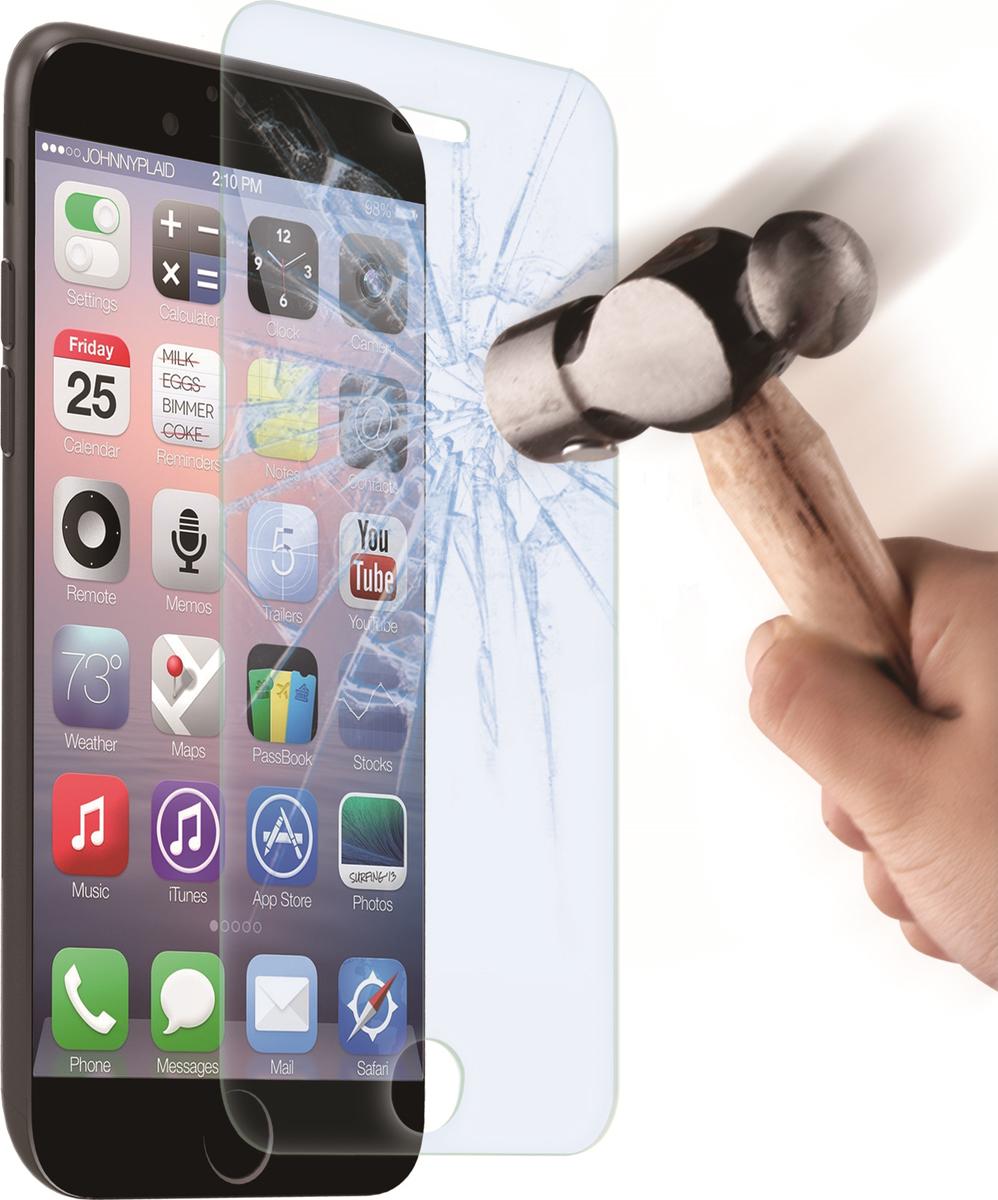 Muvit защитное стекло для Apple iPhone 7/8, ClearMUTPG0168Закаленное стекло Muvit – незаменимый элемент защиты, который должен быть на каждом устройстве. Данное ультра закаленное стекло обеспечивает оптимальную защиту экрана вашего устройства. Особенности: - Ультра жесткое закаленное стекло 9H - Легкое нанесение без образования пузырьков - Амортизирующие - Травмобезопасное - Возможно повторное нанесение - Против пыли - Олеофобное покрытие.