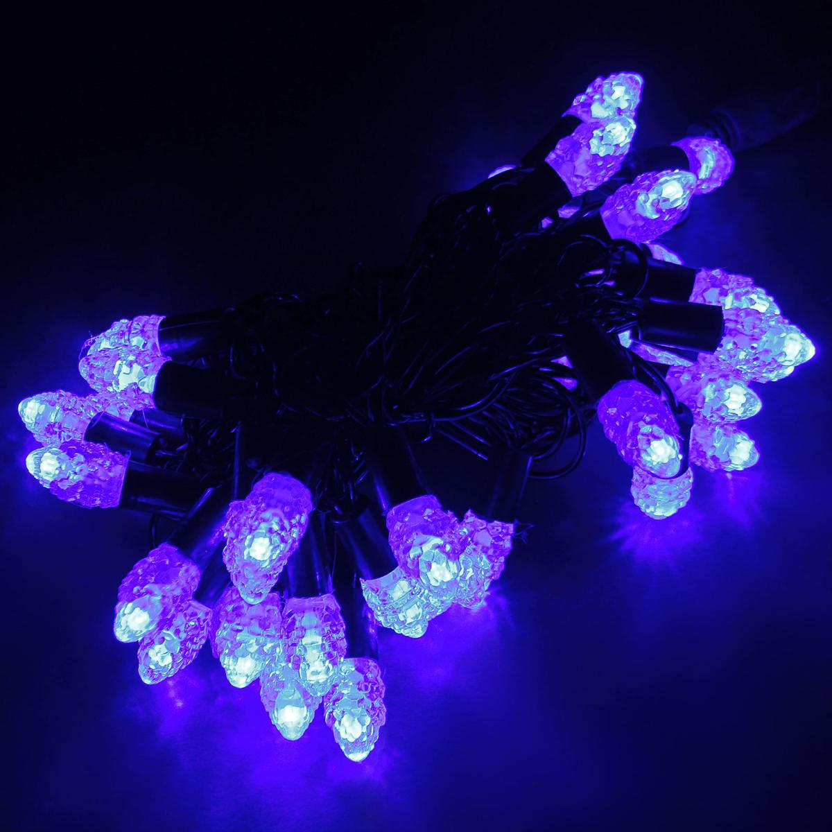 Гирлянда светодиодная Luazon Метраж. Растаявший лед, уличная с насадкой, фиксинг, 40 ламп, 220 V, 5 м, цвет: синий. 185566185566Светодиодные гирлянды, ленты и т.д. — это отличный вариант для новогоднего оформления интерьера или фасада. С их помощью помещение любого размера можно превратить в праздничный зал, а внешние элементы зданий, украшенные ими, мгновенно станут напоминать очертания сказочного дворца. Такие украшения создают ауру предвкушения чуда. Деревья, фасады, витрины, окна и арки будто специально созданы, чтобы вы украсили их светящимися нитями.