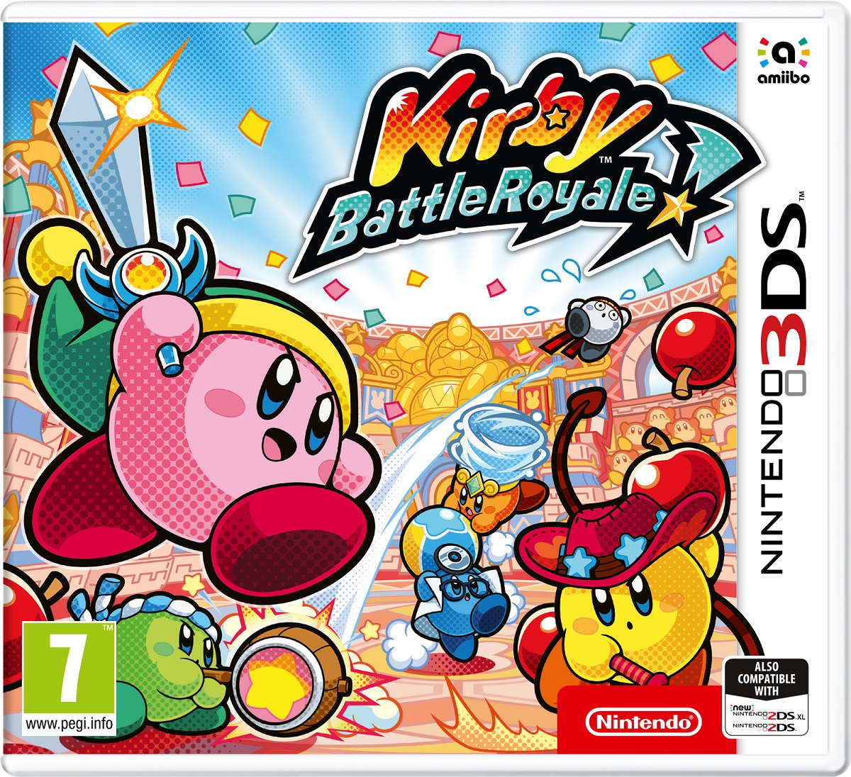 Zakazat.ru Kirby Battle Royale (3DS)