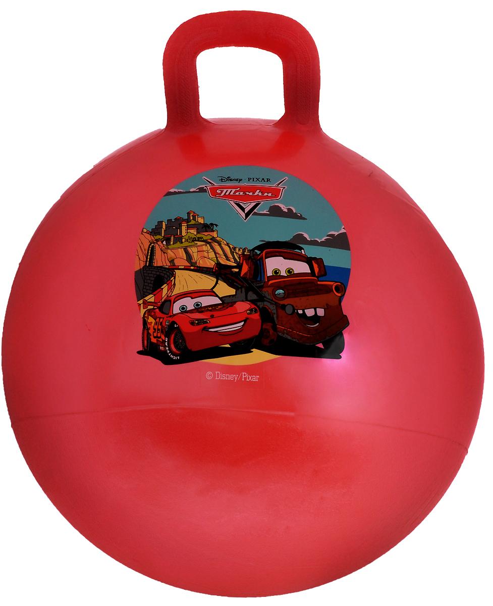 Играем вместе Мяч-прыгунок Тачки с ручкой цвет красный 55 см