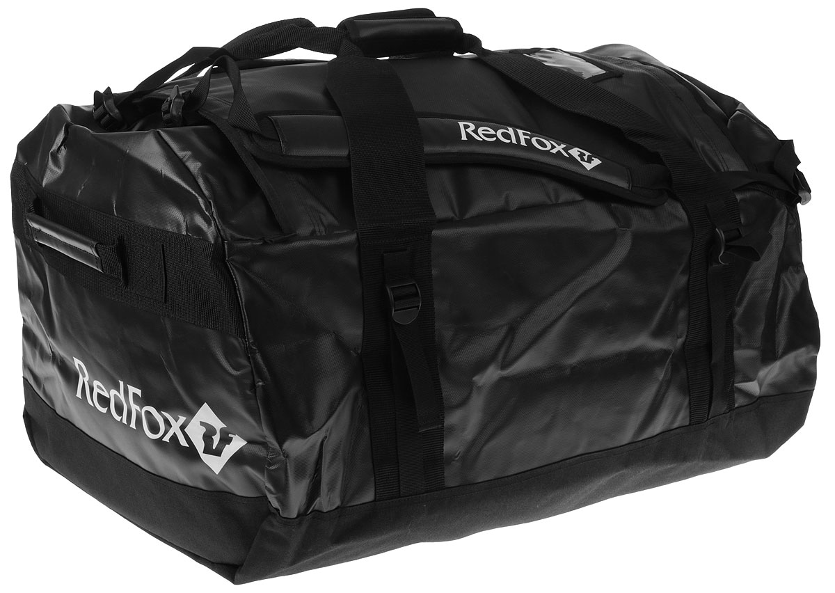 Баул Red Fox Expedition Duffel Bag, цвет: черный, 120 л