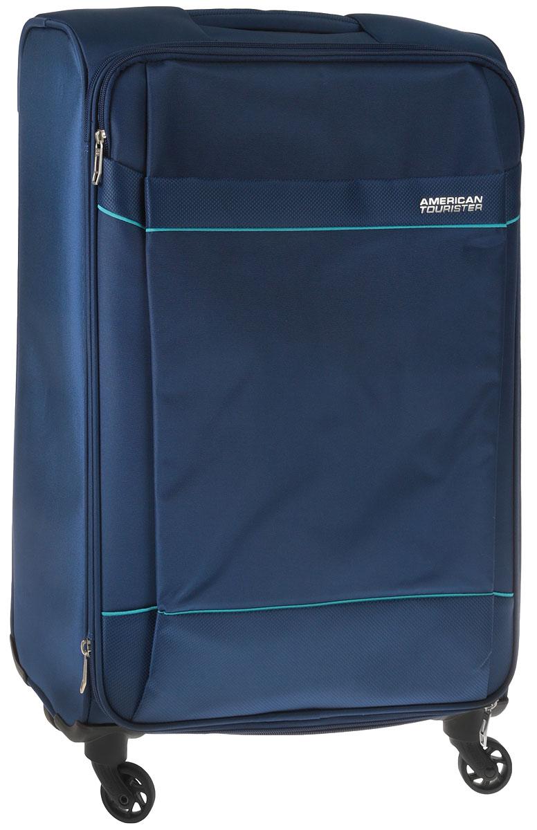 Чемодан American Tourister, цвет: синий, 69 л. 10G-11903 american tourister bon air чемоданы