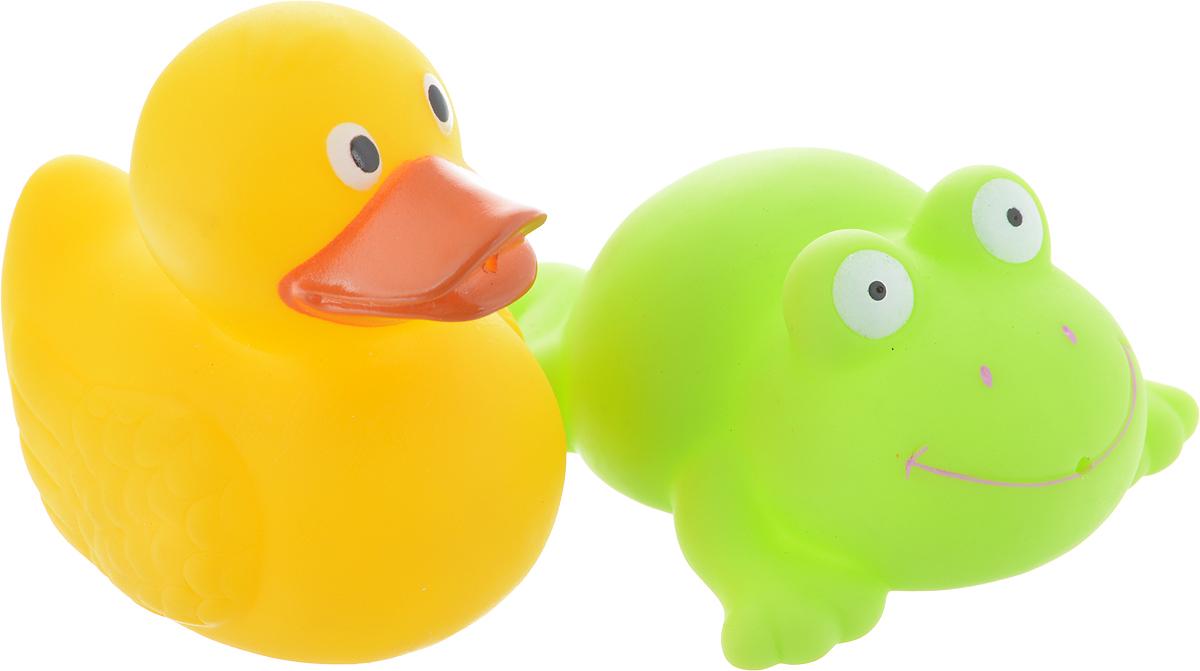 Играем вместе Набор игрушек для ванной Лягушка и утка играем вместе набор игрушек для ванной корабль и самолет