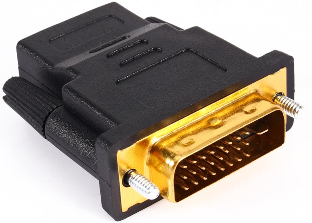 Greenconnect GCR-CV105 переходник DVI-HDMIGCR-CV105Переходник Greenconnect GCR-CV105 отличается высоким качеством материалов. Переходник позволяет транслировать цифровой сигнал без потерь в качестве, благодаря чему изображение будет передаваться максимально четко. Переходник поддерживает разрешение экрана Full-HD 1080p.
