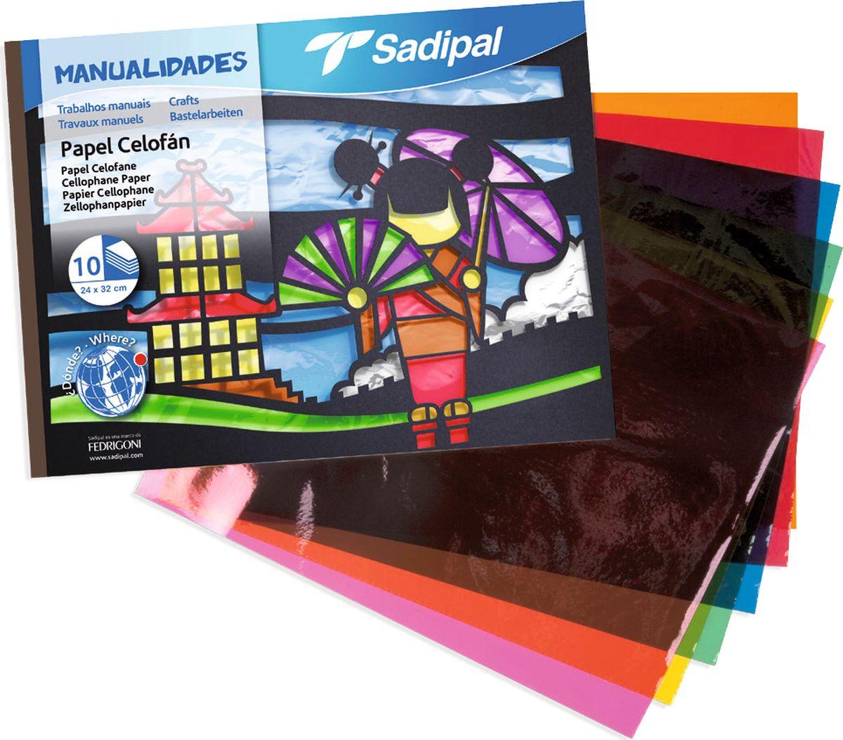 Sadipal Пленка прозрачная 10 листов05978