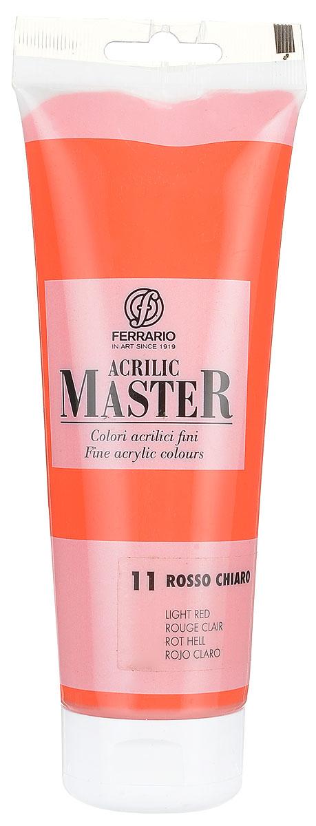 Ferrario Краска акриловая Acrilic Master цвет №11 оранжевый светлый BM0978B0011BM0978B0011Акриловые краски серии ACRILIC MASTER итальянской компании Ferrario. Универсальны в применении, так как хорошо ложатся на любую обезжиренную поверхность: бумага, холст, картон, дерево, керамика, пластик. При изготовлении красок используются высококачественные пигменты мелкого помола. Краска быстро сохнет, обладает отличной укрывистостью и насыщенностью цвета. Работы, сделанные с помощью ACRILIC MASTER, не тускнеют и не выгорают на солнце. Все цвета отлично смешиваются между собой и при необходимости разбавляются водой. Для достижения необходимых эффектов применяют различные медиумы для акриловой живописи. В серии представлено 50 цветов.