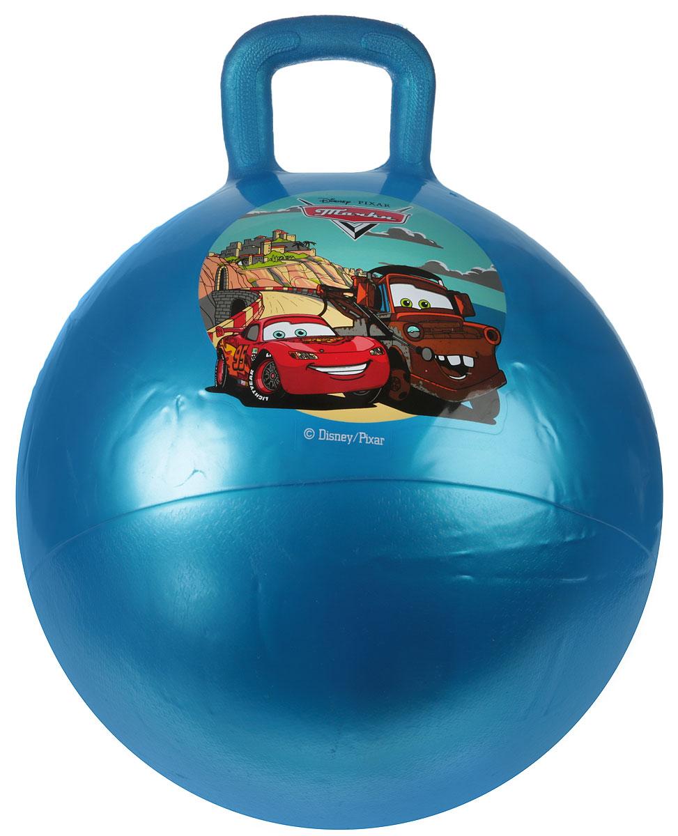 Играем вместе Мяч-прыгунок Тачки с ручкой цвет синий 45 см