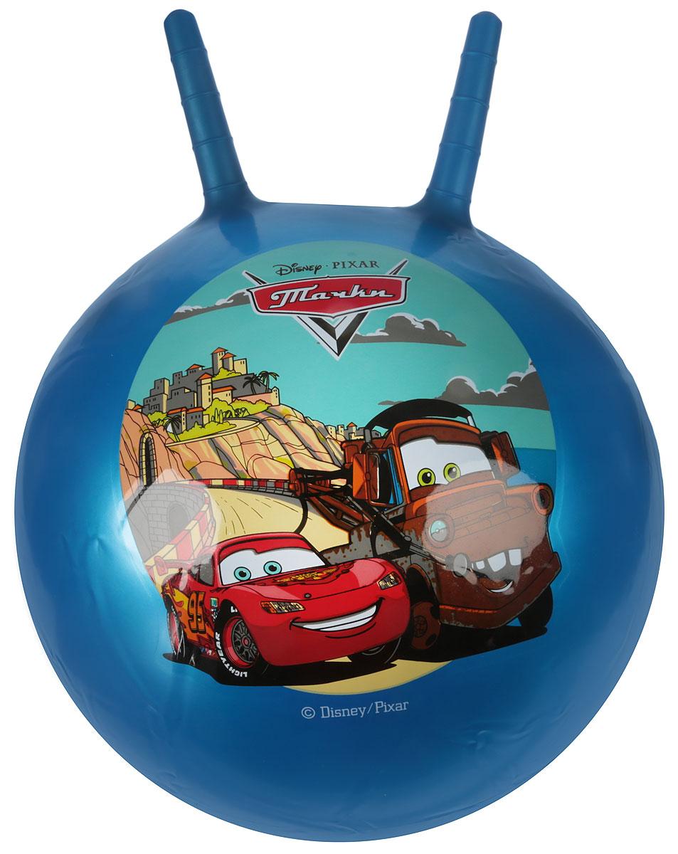 Фото Играем вместе Мяч-прыгунок Тачки с рожками цвет синий 45 см