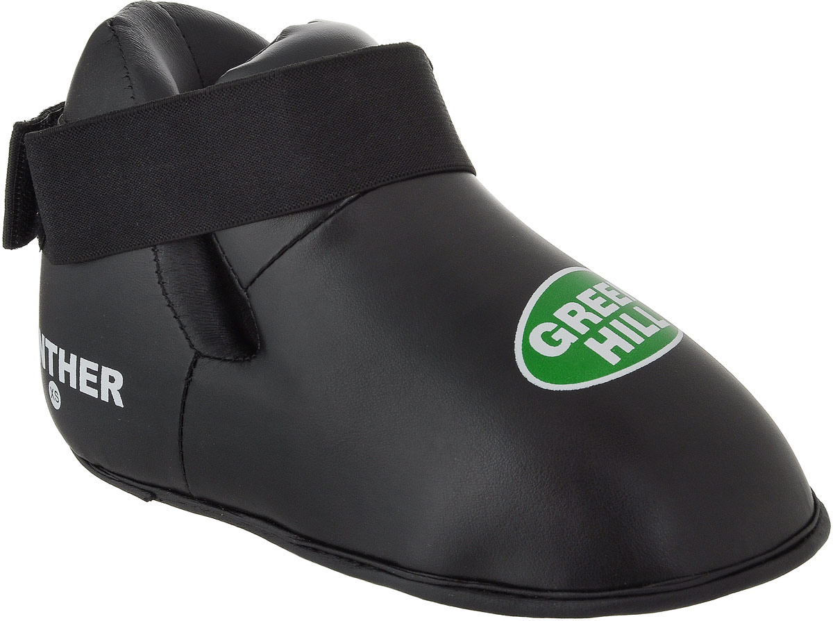 Футы Green Hill Panther, цвет: черный. KBSP-3076. Размер XS канатрукав green hill для лазания 5 метров в спб