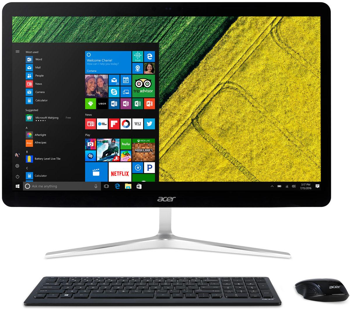 Acer Aspire U27-880, Black Silver моноблок (DQ.B8RER.001) - Настольные компьютеры и моноблоки