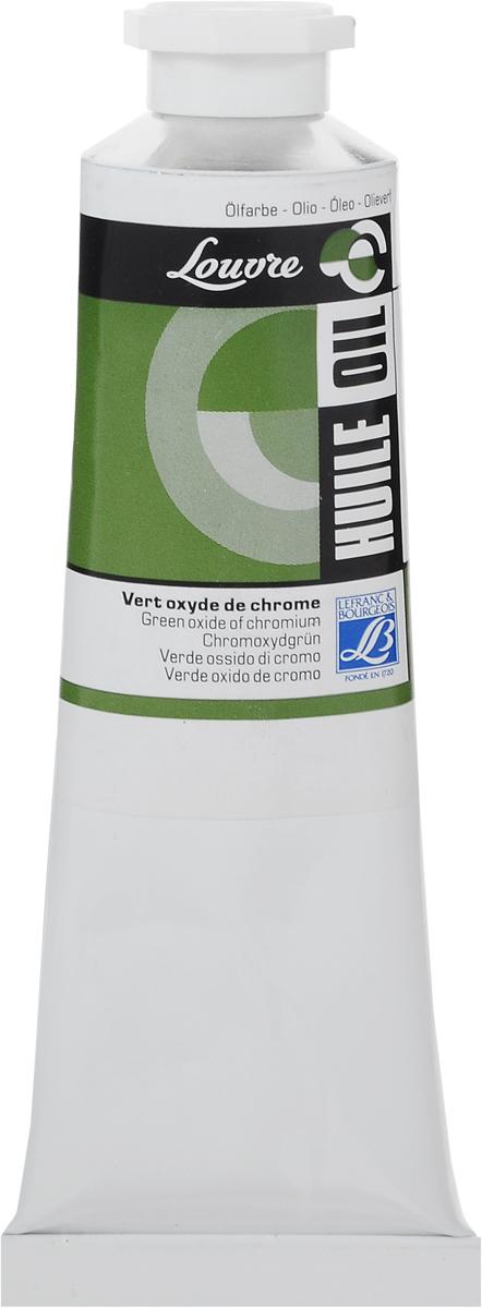 Краска масляная Lefranc & Bourgeois Louvre, цвет: зеленая окись хрома (542), 60 мл масляная живопись yue hao yh0334 7585