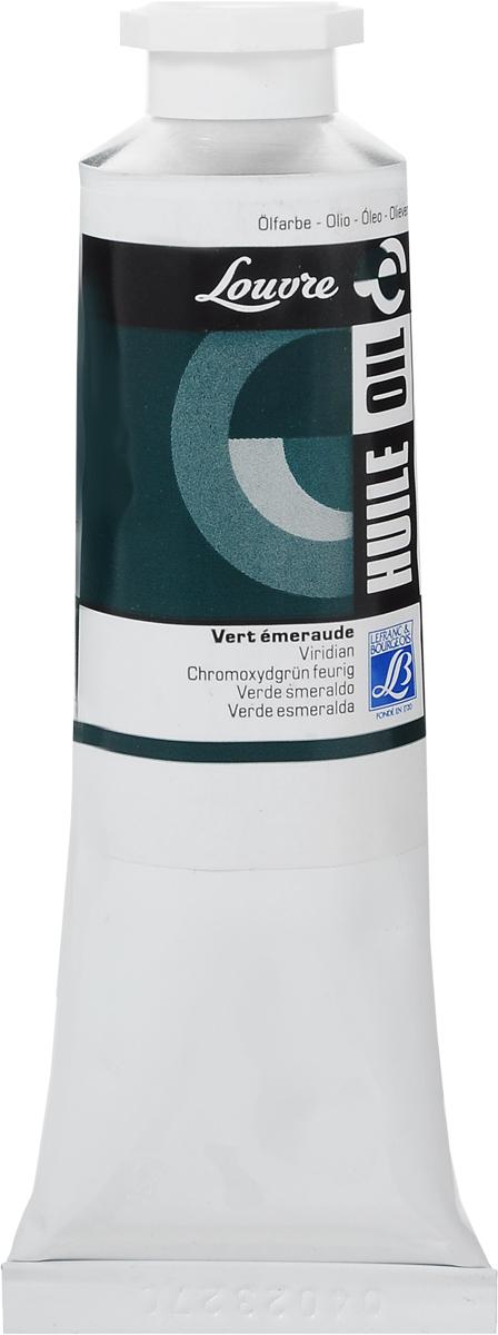 "Краска масляная Lefranc & Bourgeois ""Louvre"", цвет: виридиан (564), 60 мл"