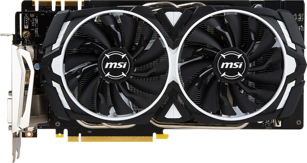 MSI GeForce GTX 1070 Ti Armor 8GB видеокарта