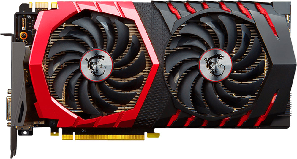 MSI GeForce GTX 1070 Ti Gaming 8GB видеокарта