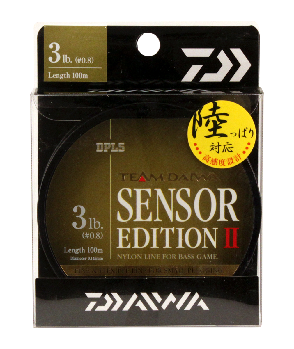 Леска Daiwa TD Sensor Edition II, цвет: оливковый, 3 lb, 100 м td tad k620a 220v ceiling mounted infrared sensor switch motion light sensor
