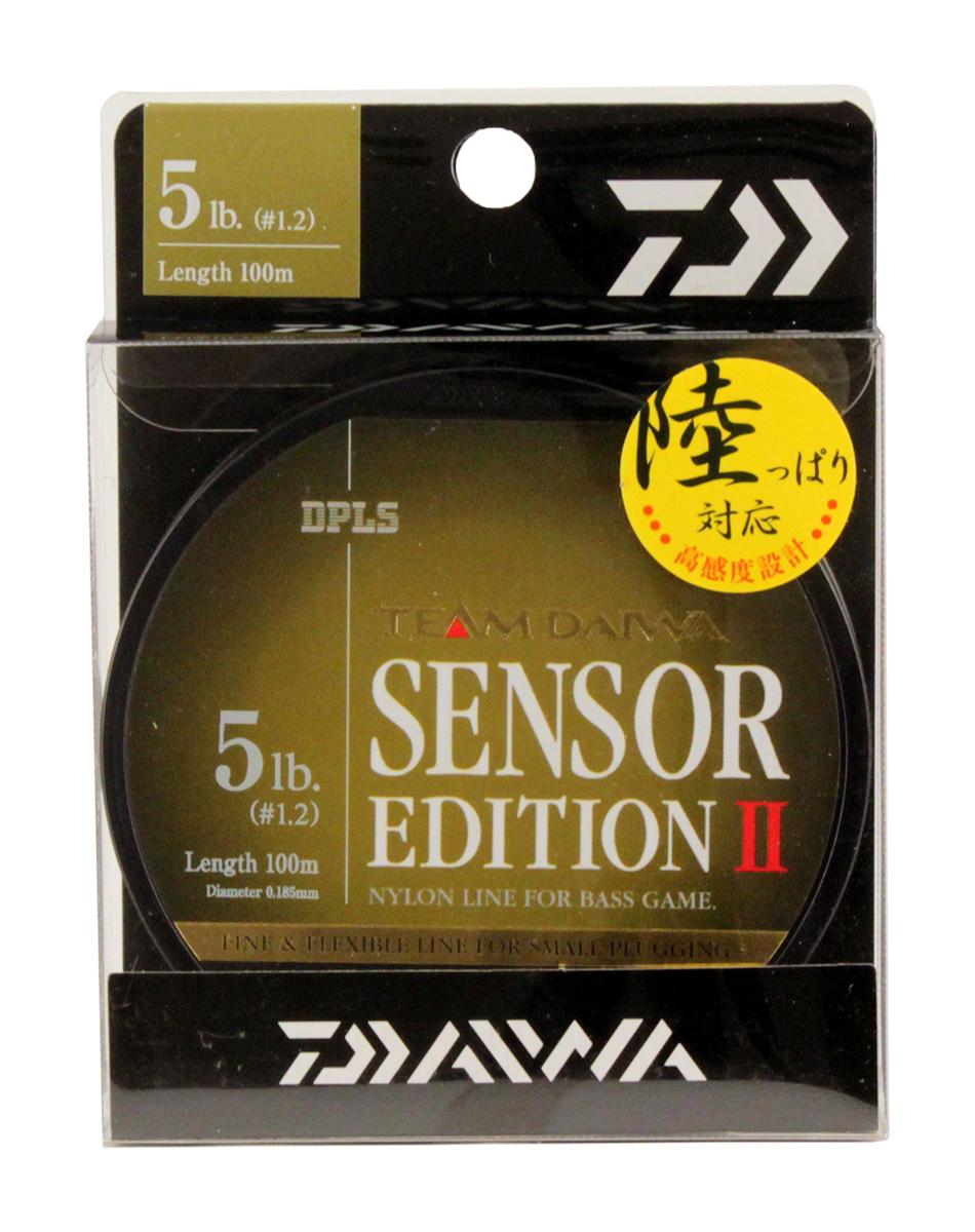Леска Daiwa TD Sensor Edition II, цвет: оливковый, 5 lb, 100 м0028112Высококачественная монофильная леска Daiwa TD Sensor Edition II имеет оптимальное соотношение чувствительности и эластичности. Низкий коэффициент растяжимости обеспечивает полный контроль над проводкой и надежную подсечку.