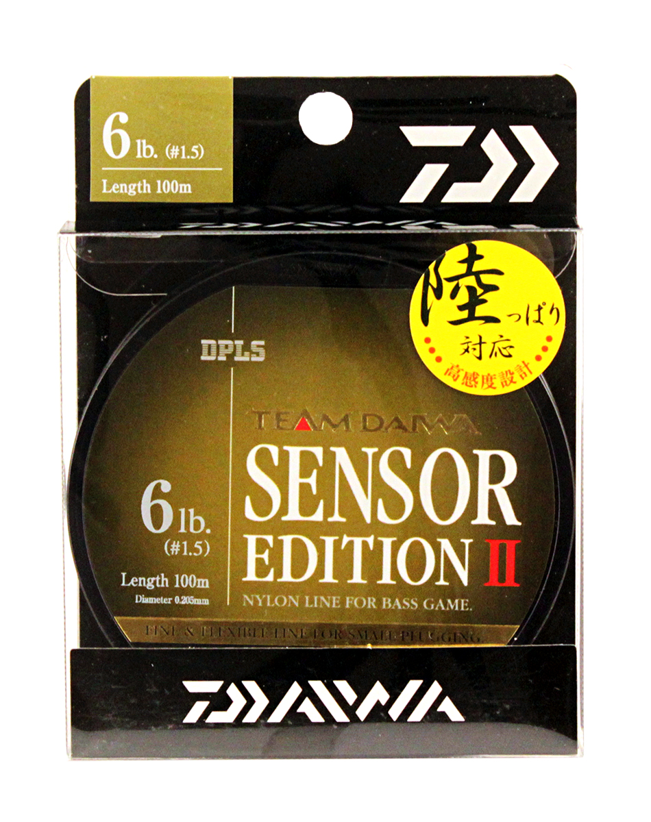 Леска Daiwa TD Sensor Edition II, цвет: оливковый, 6 lb, 100 м td tad k620a 220v ceiling mounted infrared sensor switch motion light sensor