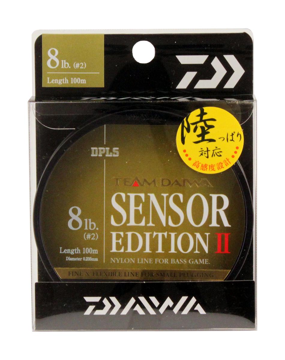 Леска Daiwa TD Sensor Edition II, 8lb, цвет: оливковый, 100 м0028114Высококачественная монофильная леска, производимая в ЯпонииОптимальное соотношение чувствительности и эластичностиНизкий коэффициент растяжимости обеспечивает полный контрольнад проводкой и надежную подсечкуМалозаметная в воде оливковая расцветкаРазмотка по 100м