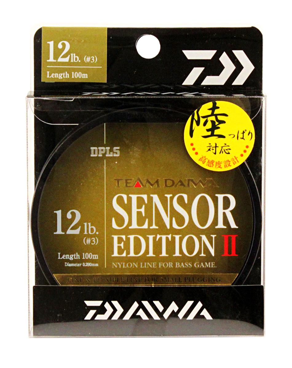 Леска Daiwa TD Sensor Edition II, цвет: оливковый, 12 lb, 100 м