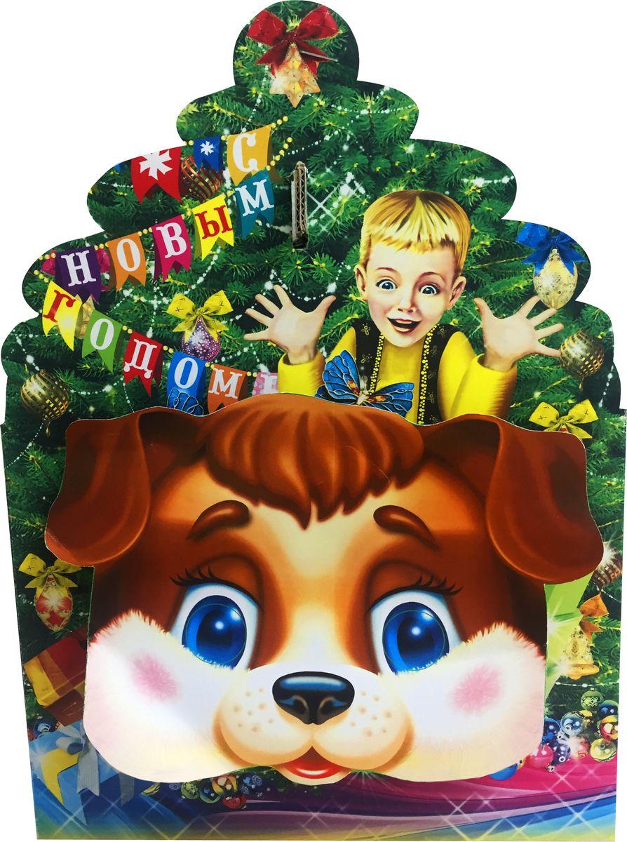 Славянка Подарок Деда Мороза новогодний подарок, 1000 г19275Новогодний подарок из шоколадных конфет известных брендов.