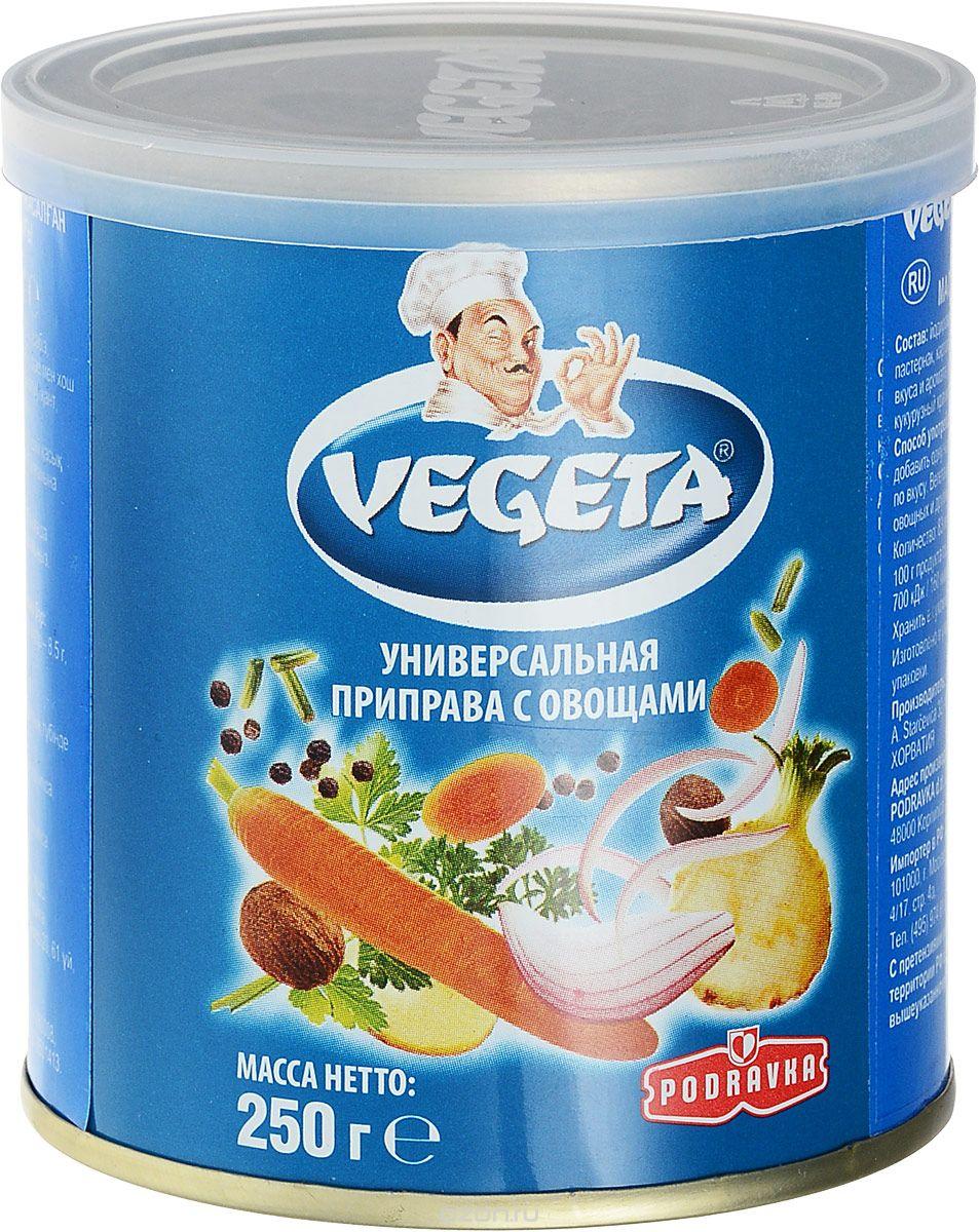 Vegeta универсальная приправа с овощами жестяная банка, 250 г3110014Надежный спутник ваших кулинарных приключений уже более 50 лет, приправа Vegeta продолжает оставаться одним из самых известных хорватских продуктов, без которого практически невозможно представить себе приготовление пищи. Область применения этой комбинации сушеных овощей и специй не ограничена: это и овощи, и мясо, и гарниры, и все, что угодно на гриле, и минималистские блюда, и блюда из сложных деликатесов - одной чайной ложки приправы Vegeta всегда достаточно, чтобы почувствовать тонкую разницу. Поэтому, готовя еду, дайте свободу своей фантазии и наслаждайтесь - еще много новых комбинаций приправы Vegeta ждет встречи с вами!Уважаемые клиенты! Обращаем ваше внимание на то, что упаковка может иметь несколько видов дизайна. Поставка осуществляется в зависимости от наличия на складе.Приправы для 7 видов блюд: от мяса до десерта. Статья OZON Гид