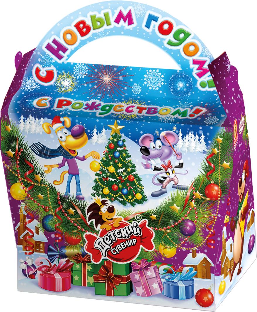 Славянка Сумочка новогодний подарок, 801 г19273Новогодний подарок из шоколадных конфет известных брендов.