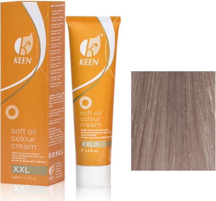 Keen Soft Oil Мягкое тонирование Крем-масло для волос 10.61 Ультра-светлый фиолетово-пепельный блондин Ultrahellblond Violett-Asch, 100 мл12910612МЯГКОЕ И ЩАДЯЩЕЕ ТОНИРОВАНИЕ: Крем-масло не содержит аммиак. УХОД: Крем-масло разработано на основе масла макадамии и оливкового масла для сохранения и укрепления структуры волос в процессе окрашивания. РЕЗУЛЬТАТ: Блестящие ухоженные волосы насыщенного светящегося цвета.pH: 9,5 – 10,5